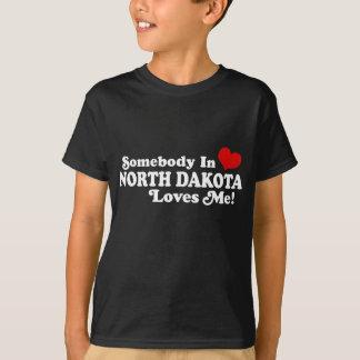 T-shirt Le Dakota du Nord