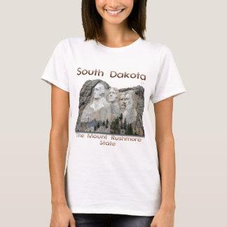 T-shirt Le Dakota du Sud le mont Rushmore