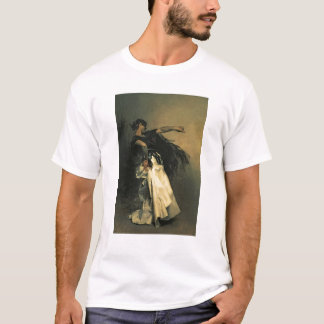 """T-shirt Le danseur espagnol, étude pour le """"EL Jaleo"""","""