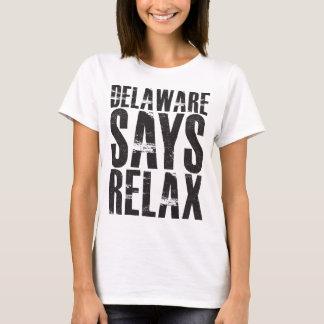 T-shirt Le Delaware indique détendent