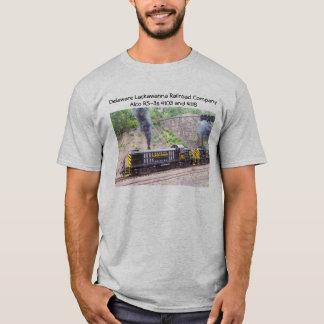 T-shirt Le Delaware Lackawanna Railroad Company Alco RS-3s