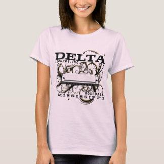 T-shirt Le delta enregistre l'inc.