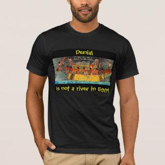 T-shirt Le démenti n'est pas une rivière en Egypte