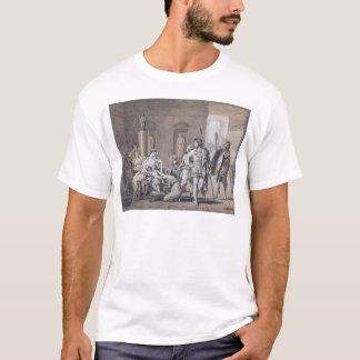 T-shirt Le départ de Hector, c.1812