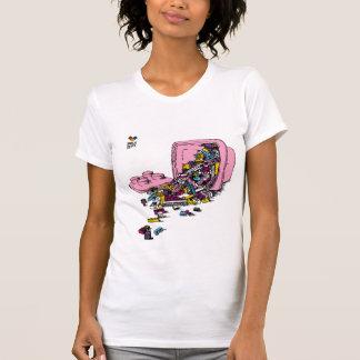 T-shirt Le département de brique - seau rose