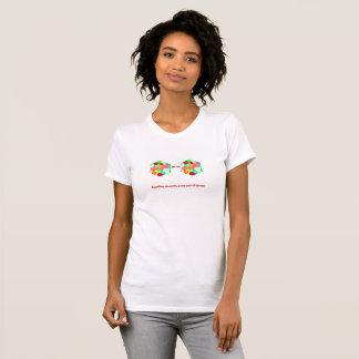T-shirt Le déplacement vous donne une nouvelle paire de
