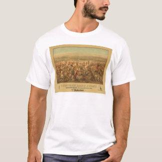 T-shirt Le dernier combat de Custer (2610A)