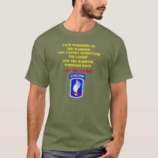 T-shirt Le DESTIN CHUCHOTE au 173rd GUERRIER,
