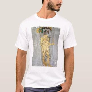 T-shirt Le détail de chevalier de la frise de Beethoven