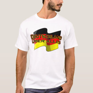 T-shirt Le Deutschland Über Alles