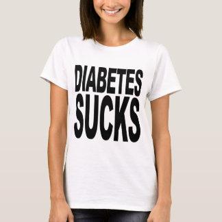 T-shirt Le diabète suce