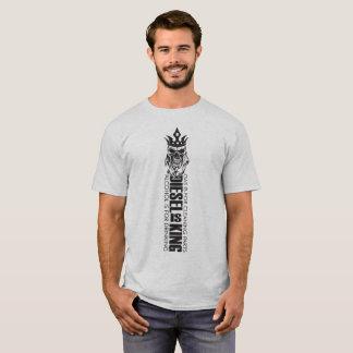 T-shirt Le diesel est chemise de lumière de crâne de roi