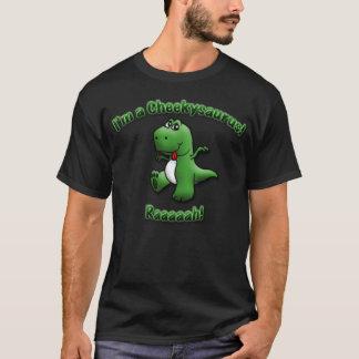 T-shirt Le dinosaure mignon est un Cheekysaurus