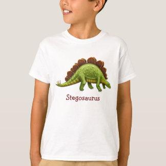T-shirt Le dinosaure préhistorique de Stegosaurus badine