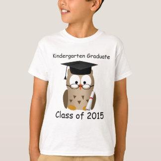T-shirt Le diplômé sage fait sur commande de jardin