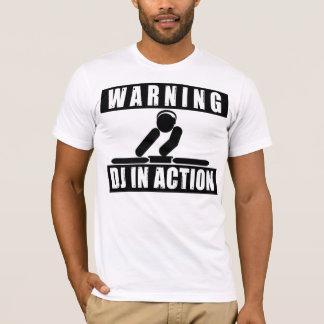 T-shirt Le DJ dans l'action