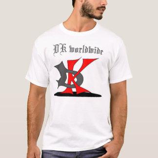 T-shirt le DK dans le monde entier