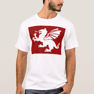 T-shirt Le dragon rouge