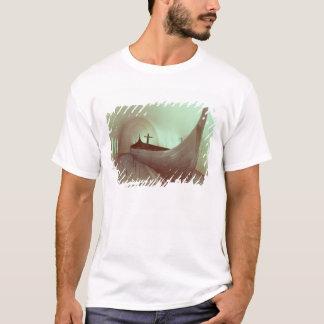 T-shirt Le drakkar de Gokstad (bois)