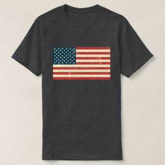 T-shirt Le drapeau américain s'est fané