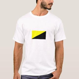 T-shirt Le drapeau d'Anarcho-Capitaliste