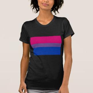 T-shirt Le drapeau de Bi vole pour la fierté bisexuelle