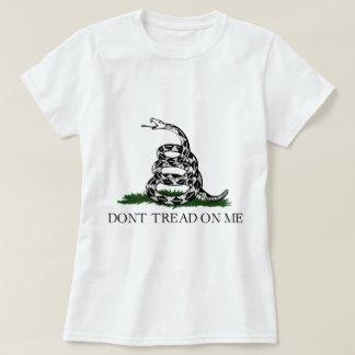 T-shirt Le drapeau de Gadsen, ne marchent pas sur moi, la