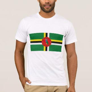 T-shirt Le drapeau de la Dominique