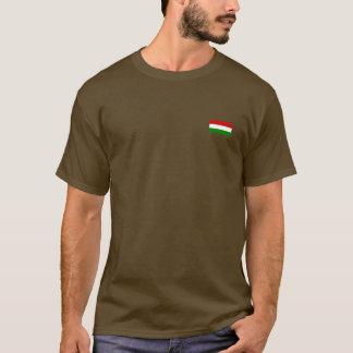 T-shirt Le drapeau de la Hongrie