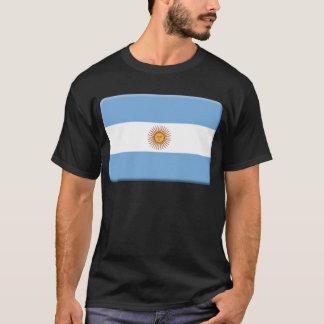 T-shirt Le drapeau de l'Argentine PERSONNALISENT
