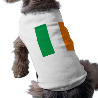 T-shirt Le drapeau de l'Irlande, tricolore irlandais