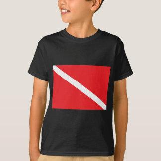 T-shirt Le drapeau de piqué de SCAPHANDRE badine
