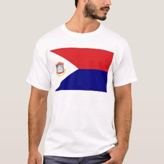 T-shirt Le drapeau de St Martin