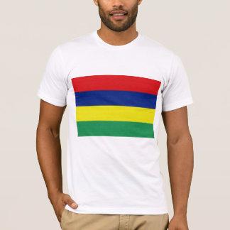 T-shirt Le drapeau des Îles Maurice