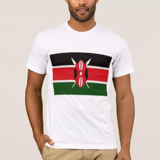 T-shirt Le drapeau du Kenya