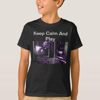 T-shirt Le fantôme force la chemise de joueur