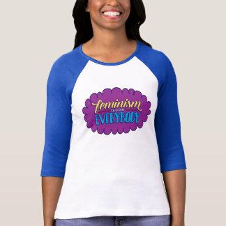 T-shirt Le féminisme est pour tout le monde a adapté 3/4