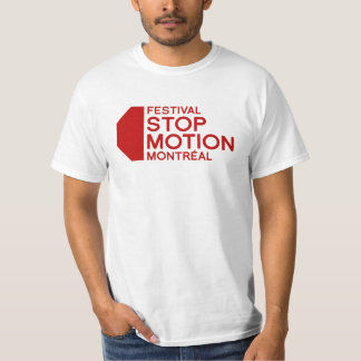 T-shirt Le festival arrêtent le mouvement Montréal - la