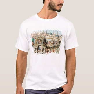 T-shirt Le festival royal d'entrée de Henri II dans