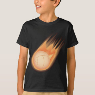 T-shirt le feu de volleyball