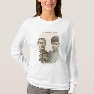 T-shirt Le fiançailles du duc d'Albert Victor de