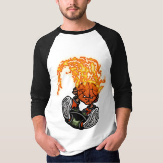 T-shirt Le flambage trempent