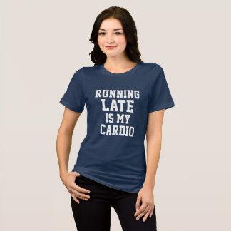 T-shirt Le fonctionnement en retard est mon cardio-