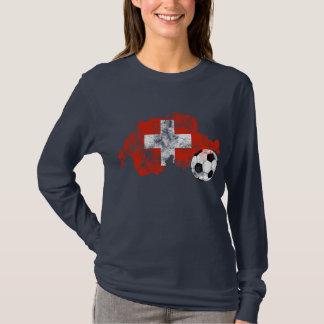 T-shirt Le football affligé de la Suisse