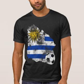 T-shirt Le football affligé de l'Uruguay