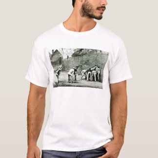 T-shirt Le football au mur chez Eton