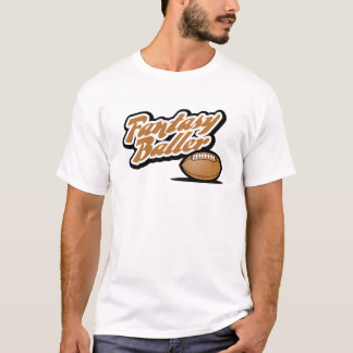 T-shirt Le football Baller d'imaginaire