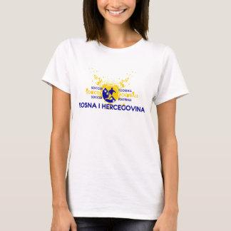 T-shirt Le football de Bosna