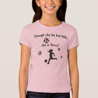 T-shirt Le football de filles