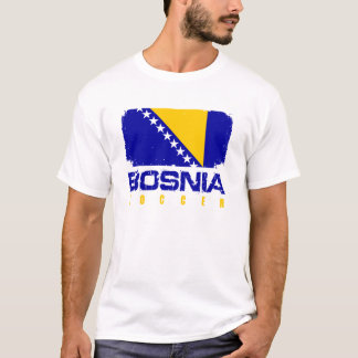 T-shirt Le football de la Bosnie